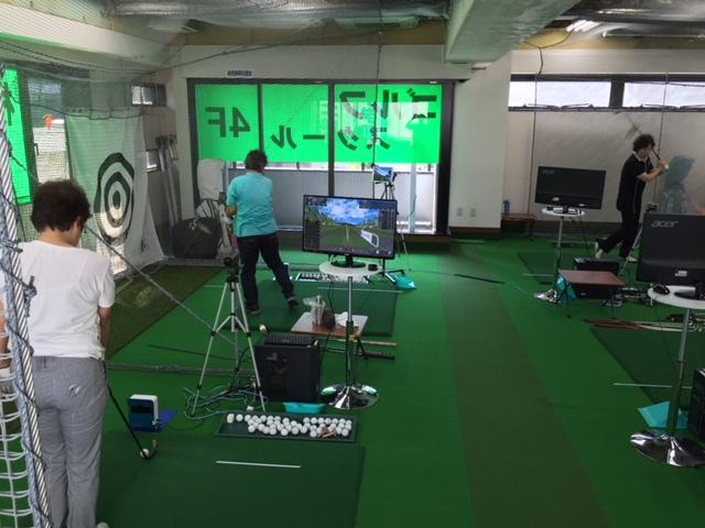 横浜ゴルフスクール中島 今週のレッスンも盛りだくさん!