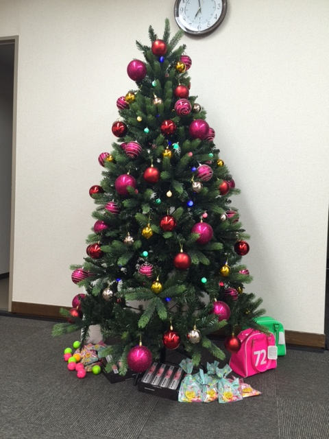 横浜ゴルフスクール中島クリスマスツリー
