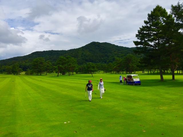 軽井沢72ゴルフ/コースレッスン2016年9月7日