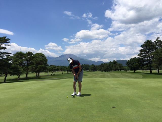 軽井沢72ゴルフ/コースレッスン2017年7月18、19日