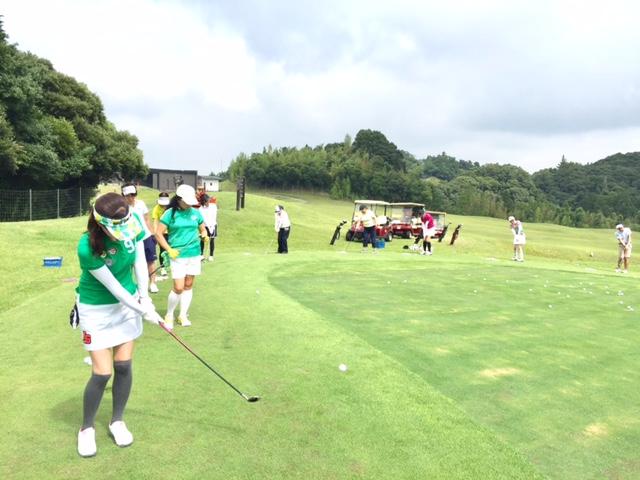 初心者限定ゴルフ体験会/2017年8月5日