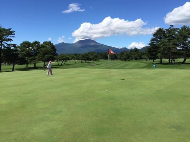 軽井沢72ゴルフ/コースレッスン2017年8月9日