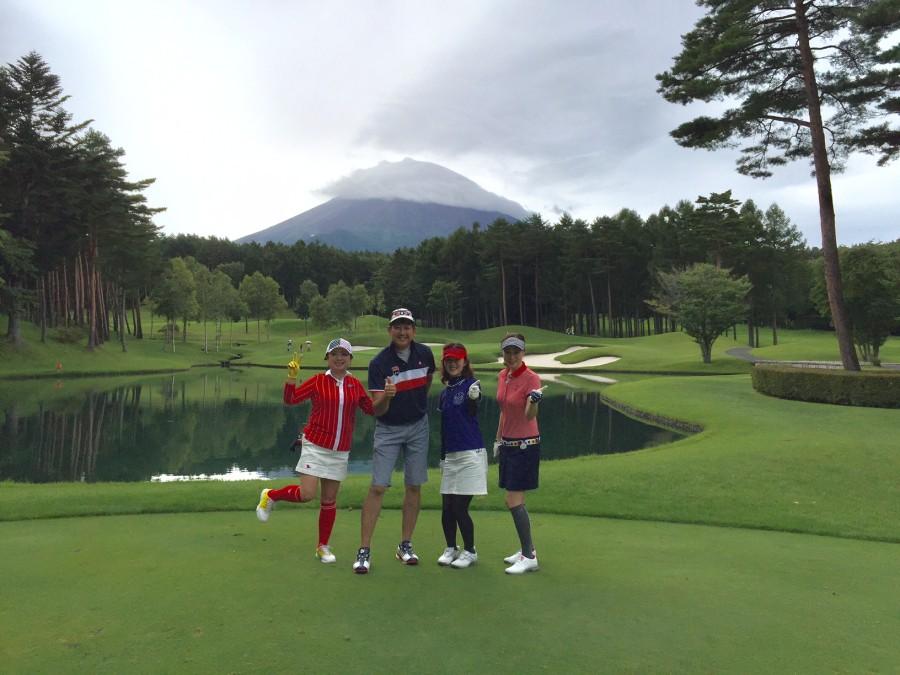 鳴沢ゴルフ倶楽部/コースレッスン2017年9月12日(火)