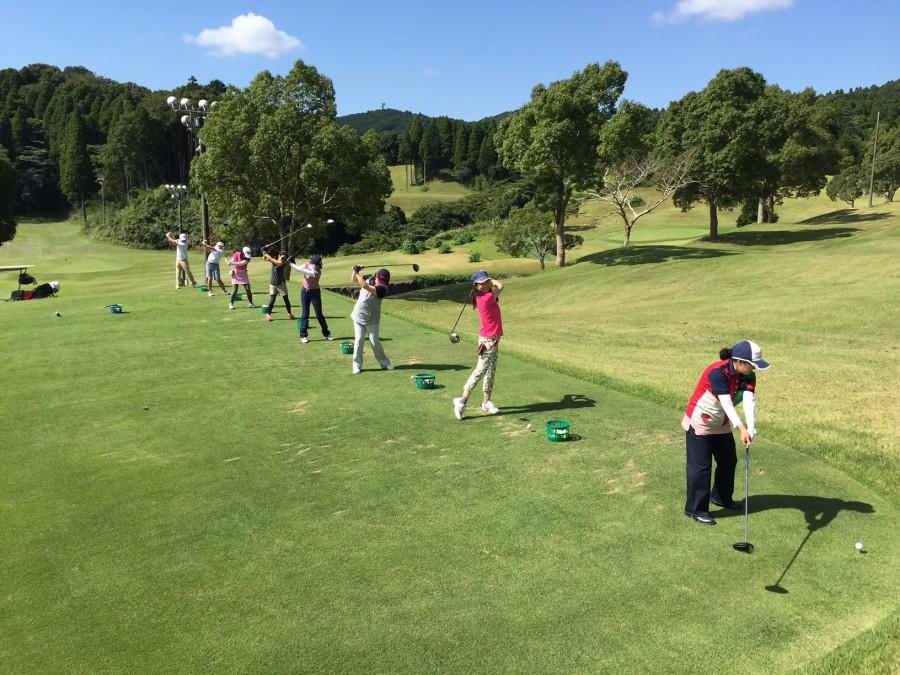初心者ゴルフ体験会/2017年10月1日