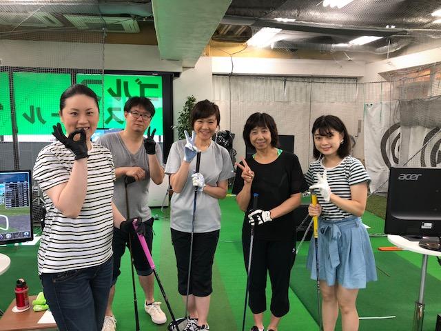 横浜ゴルフスクール中島ドラコン大会2018年6月最終日