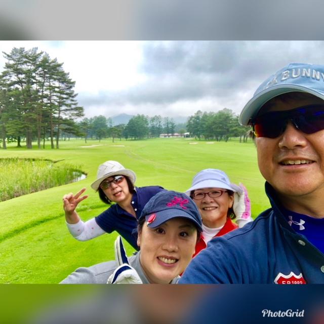 軽井沢72ゴルフ/コースレッスン2018年7月4日