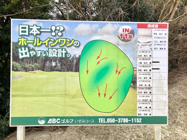ホールインワン!チャレンジ/ABCいすみゴルフコース