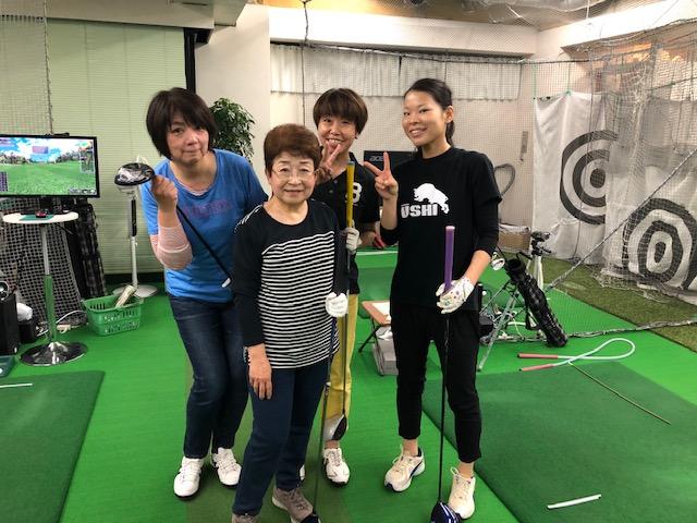 横浜ゴルフスクール中島ドラコン大会2019年11月 5日目
