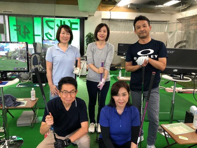横浜ゴルフスクール中島ドラコン大会2019年11月 最終日